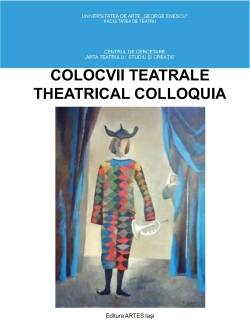 The cover of Colocvii Teatrale